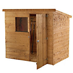 Mercia Shiplap Pent Shed 6x4ft