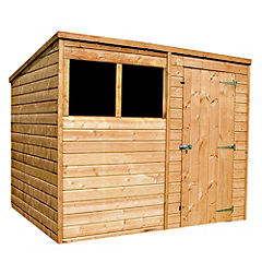 Mercia Shiplap Pent Shed 8x6ft