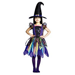 Cobweb Witch Outfit with Sequins