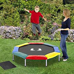 Statutory Play Trampoline Multicoloured