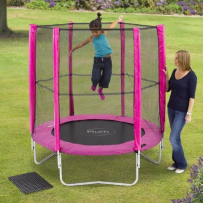 Plum 6ft Trampoline & Enclosure - image 1
