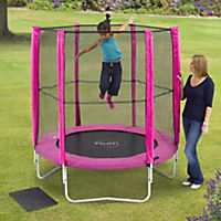 Plum 6ft Trampoline & Enclosure