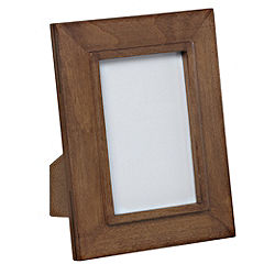 Tu Solid Dark Wood Frame 4x6