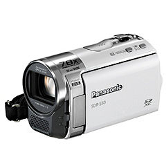 Panasonic SDR-S50 SD Card Camcorder White