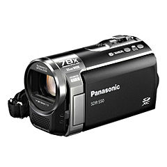 Panasonic SDR-S50 SD Card Camcorder Black