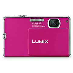 Panasonic DMC-FP1 12 Megapixel 4x Zoom Digital Camera Pink