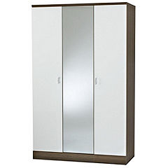 Nebraska 3-door Centre Mirror Wardrobe