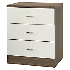 Nebraska 3-drawer Wide Chest