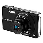 Samsung ST70 14.2 Megapixel 5x Zoom HD Digital Camera Black