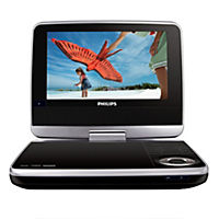 "Philips PD7040 7"" Swivel Screen Portable DVD Player"