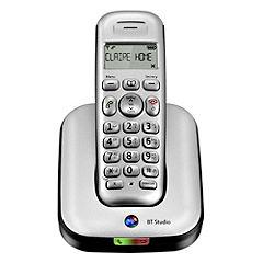 BT Studio 4100 Single Phone Silver