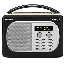 PURE EVOKE Mio Midnight Digital/FM Radio