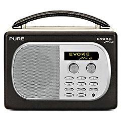 PURE EVOKE Mio Chocolate Digital/FM Radio