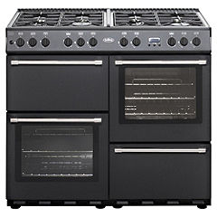 Belling Country Classic Anthracite Dual Fuel Cooker