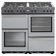 Belling Country Classic Silver Gas Cooker