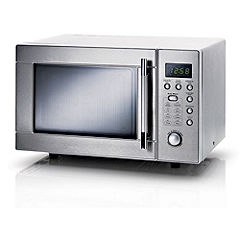 Sainsburys Stainless Steel 20L Microwave