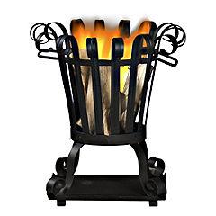 La Hacienda Steel Firebasket