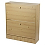 Shoe Storage Unit Wood Effect