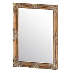 Classic Ornate Mirror Gold