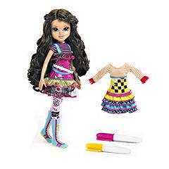 Moxie Artitude Doll with Fashion Design Kit