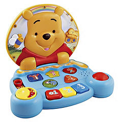 Statutory VTech Winnie the Pooh Play and Learn Laptop