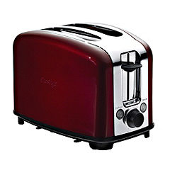Prestige Traditional 2 Slice Toaster Red
