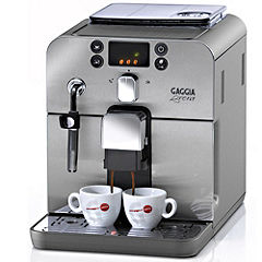 Philips RI9833/70 Gaggia Brera Coffee Maker Silver