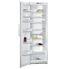 Siemens KS38RV12GB Stainless Steel Larder Fridge White