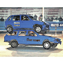 Auto Stunt School Experience for One