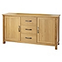 Kensington Oak Veneer Large Sideboard