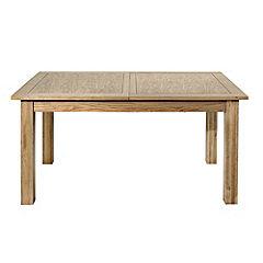 Kensington Oak Veneer Extending Dining Table