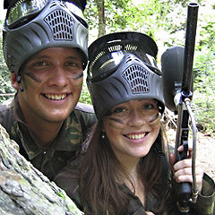 Paintballing Day for Two