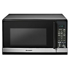 Sharp R658SLM 20L Microwave with Grill Silver