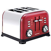 Morphy Richards Accents Red 4-slice Toaster