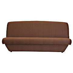 Katie Clic Clac Sofabed in Chocolate Faux Suede