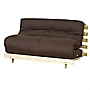 Kyoto Olivia Mattress Double Futon with Chocolate