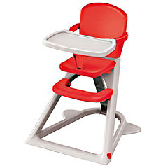 Highchair Red and White