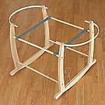 Claire de Lune Deluxe Rocking Stand for Moses Basket