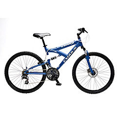 Exodus Kinsei 21-speed Dual Suspension Bike