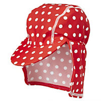 Girls Spotty Sunsafe Hat