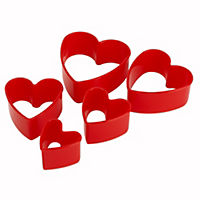 Tala Heart Cookie Cutters 5-pack