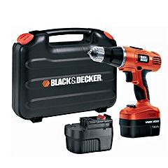 Black & Decker EPC148BK Cordless 14V Hammer Drill
