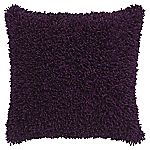 Tu Purple Shaggy Chenille Cushion