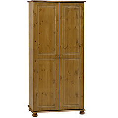 Oxford Pine 2-door Wardrobe