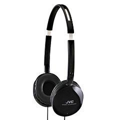 JVC HAS150 Flats Overear Headphones Black