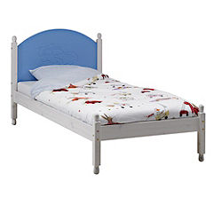 Atlanta Single Bed Blue and White