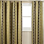 Tu Chenille Circle Green Curtain
