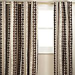 Tu Chenille Circle Natural Curtain