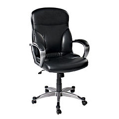Tu Luxury Leather Effect Office Chair