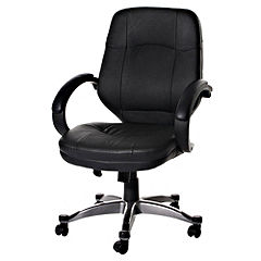Tu Leather Faced Managers Office Chair